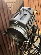 More details for vintage industrial stage theatre light on tripod stand retro strand