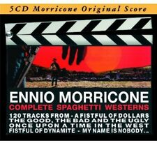 Complete Spaghetti Wes - Ennio Morricone (2012, CD NIEUW)5 DISC SET