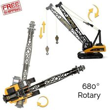 Control Crane, Battery Powered Rc Construction Toy Crane With Lights Sound Prof