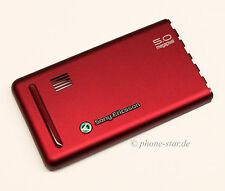 ORIGINAL SONY ERICSSON G900i BATTERY COVER AKKUDECKEL BACK HOUSING RED 1204-4632