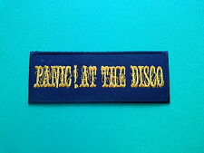 HEAVY METAL PUNK ROCK MUSIC SEW ON / IRON ON PATCH:- PANIC! AT THE DISCO (a)