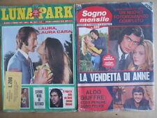 BUSTA anni 70 di 2 Fotoromanzi LUNA PARK 83 + Sogno Mensile 106  [D3]