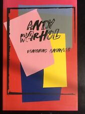 ANDY WARHOL: VANISHING ANIMALS Catalog