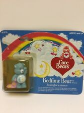 """1984 Care Bears """"Bedtime Bear"""" Ready For A Snooze In Box By Kenner"""