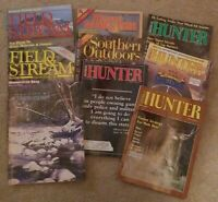 Lot of 9 Vintage Magazines 1988 - 1989 Field and Stream, American Hunter, Etc