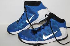 Nike Air Without A Doubt Basketball Shoes, #759982-400, Royal/Wht/Blk,US 7 Youth