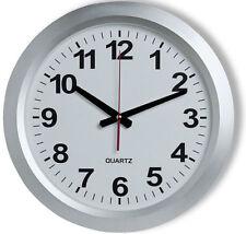 Relojes de pared color principal plata de batería