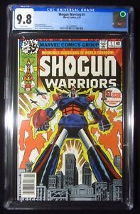 Shogun Warriors #1 (1979) CGC 9.8...Mattel Toys...Raydeen, Combatra, Dangard Ace