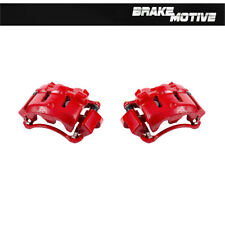Front Red Calipers For 2000 2001 2002 2003 2004 FORD EXCURSION F250 F350 2WD 4WD