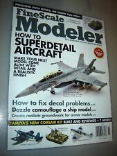 Fine scale Modeler Magazine November 2013 Hasegawa F/A-18F