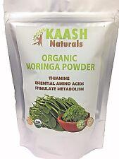 MORINGA LEAF POWDER USDA Certified ORGANIC 100% Raw Superfood,Gluten Free
