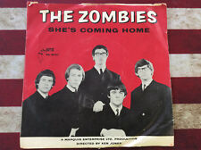 "The Zombies She's Coming Home Parrot 45-9747 45 7"" Record w/Sleeve"