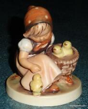 "1950s ""Chick Girl"" Hummel Figurine #57/0 TMK2 FULL BEE VINTAGE Collectible Gift!"