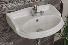 Nostalgie Waschbecken Waschtisch Antik Keramik Retro MARKEN PRODUKT  weiss