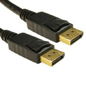 Gold Plated DP to DP Cable 2M (CABL-CDLDP-002LOCK) Clearance Stock (REF 108)