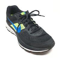 Men's Nike Pegasus 30 Running Shoes Sneakers Size 7.5M Black Green Blue L3