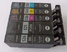 5x TINTE PATRONEN CANON PIXMA IP4850 IP4950 IX6550 MG5150 MG5250 MG5350  ANGEBOT