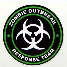 3pc Zombie Outbreak Response Team Tool Box Hard Hat Helmet Sticker Green