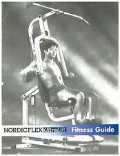 NordicFlex NORDIC FLEX UltraLift Home Gym OWNER'S MANUALS