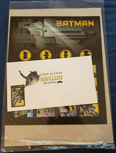 2014 USA 1st Day Issue BATMAN 75th Anniversary 20 Forever Stamp Sheet SEALED