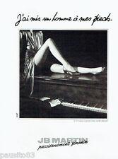 PUBLICITE ADVERTISING 115  1988  JB MARTIN  chaussures  femme *