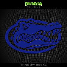 "Florida Gators - NCAA - Blue Vinyl Sticker Decal 5"""