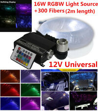 300Pcs DIY Car Led Ceiling Light Fiber Optic Star Car Romantic Decoration Light