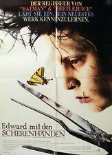 Affiche 60x80cm EDWARD AUX MAINS D'ARGENT /… MIT DEN SCHERENHANDEN Tim Burton