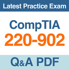CompTIA A+ Certification Practice Test 220-902 Exam Q&A PDF