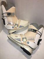 Vintage Salomon SX81 Men's Ski Boots Rear Entry  Size 310 White/Black