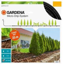 GARDENA Start Set Micro-Drip-System Tropfbewässerung Pflanzreihe M