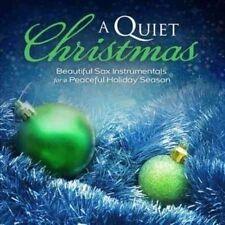 Quiet Christmas Sax Instrum 0080688898526 Instrumentals CD