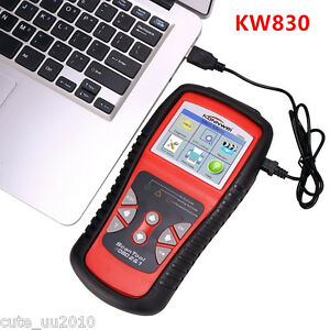 KW830 CAN Car EOBD OBDII Diagnostic Tool Auto Scanner Fault Code Reader AL519