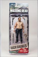 "RICK GRIMES THE WALKING DEAD TV SERIES 6, 5"" ACTION FIGURE MCFARLANE TOYS"