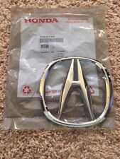 "New Genuine OEM 2007-2009 Acura MDX SUV Front Grill Chrome ""A"" Emblem Badge STX"