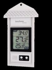 MAX / MAX Thermometer WS 1080 Technoline Gartenthermometer digital weiß