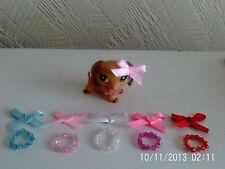 Accessoires pour LPS Littlest Pet Shop 10 objets Bows Collier