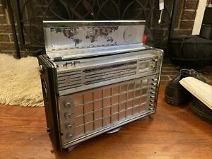 Phillips Norelco Transistor Radio Vintage 1966-68 AM/FM/SW Deluxe Model L6X38T