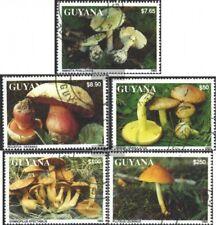 Guyana 4136-4140 (kompl.Ausg.) gestempelt 1993 Pilze