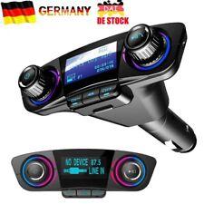 Bluetooth FM Transmitter Auto MP3 Player USB KFZ SD AUX Freisprechanlage