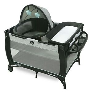 Graco Baby Pack 'n Play Travel Dome Bassinet Playard Sleep Archie NEW