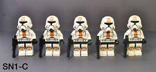 Lego Star Wars Republic Trooper Clone Trooper Minifigures Lot of 5 (75001)