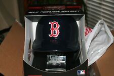 boston red sox MLB FULL SIZE Batting Helmet with FREE Display Stand