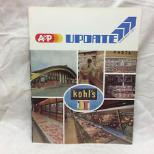 Vintage 1984 A & P Grocery Store Update Booklet