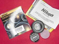 Nikon AF 50mm f1.4D  #6152956 .......... MINT w/Box,I.B.,W.C.,Caps