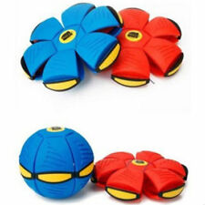 Magic Frisbee Ball Flying Throwing UFO Discs Play Gam Sports Fun Children Toys