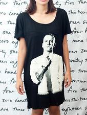 Eminem Slim Shady R B DJ T44 Hip Hop WOMEN Tunic T-SHIRT Dress Top Size S M L
