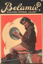 BELAMIE 1960s sexy Revue Magazine curiosa Pinup vintage glamour barefoot hat