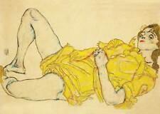 Egon Schiele # 08 Poster cm 70x100 Stampa Glicée Papi, Papi Arte