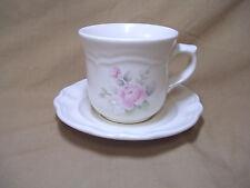 Pfaltzgraff Tea Rose Cup & Saucer Set